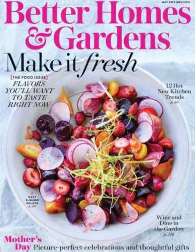 Better Homes & Gardens - May 2018