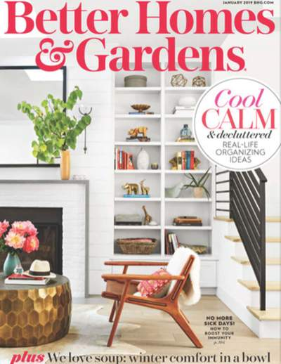 Better Homes & Gardens - January 2019