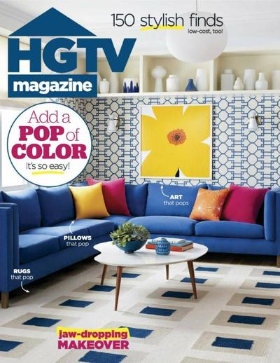 HGTV MAGAZINE - MAY 2018