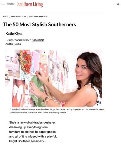Southern Living - 50 Most Stylish Southerns