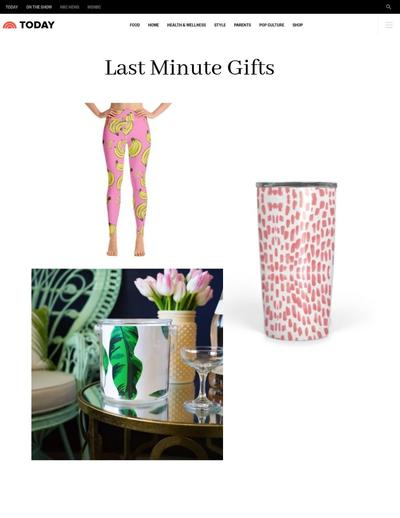 The Today Show - Last Minute Gifts - December 2018