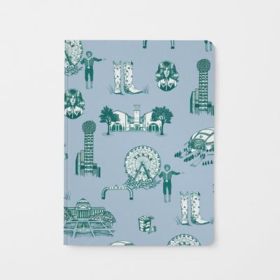Journal Blue Pine Dallas Toile Journal