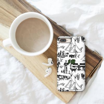 Personalized Phone Case Marfa Toile Phone Case