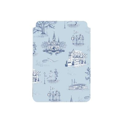 Tablet Sleeve Blue Navy / Small New Orleans Toile Tablet Sleeve