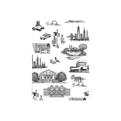 Tablet Sleeve Black / Small New York Toile Tablet Sleeve