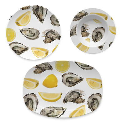 Melamine Bowl The World is Your Oyster Dinnerware