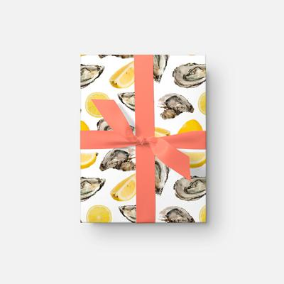 Gift Wrap The World is Your Oyster Gift Wrap Roll