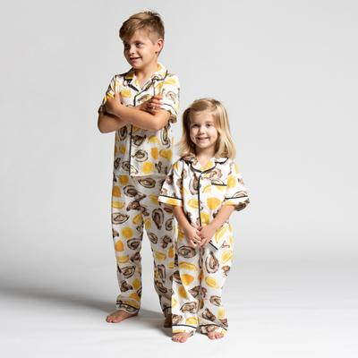 Youth Pajama Set The World is Your Oyster Kids Pajama Set