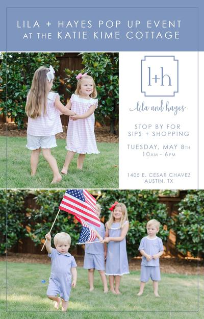 Lila + Hayes Pop Up Shop @ The Sakanaphotography Cottage