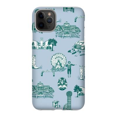 Personalized Phone Case Dallas Toile Phone Case