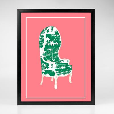 Gallery Prints The Birdcage Chair Print